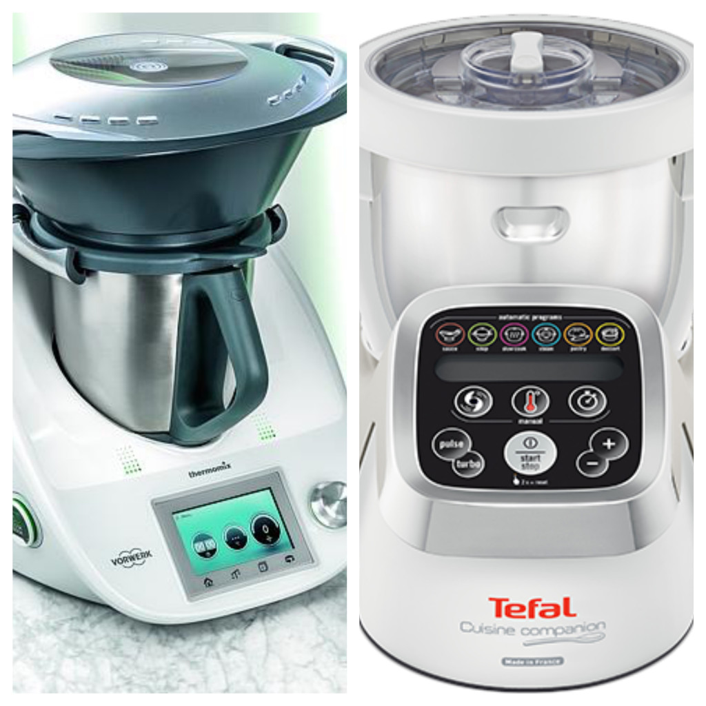 compare thermomix vs tefal cuisine companion kitchen compare it versus. Black Bedroom Furniture Sets. Home Design Ideas