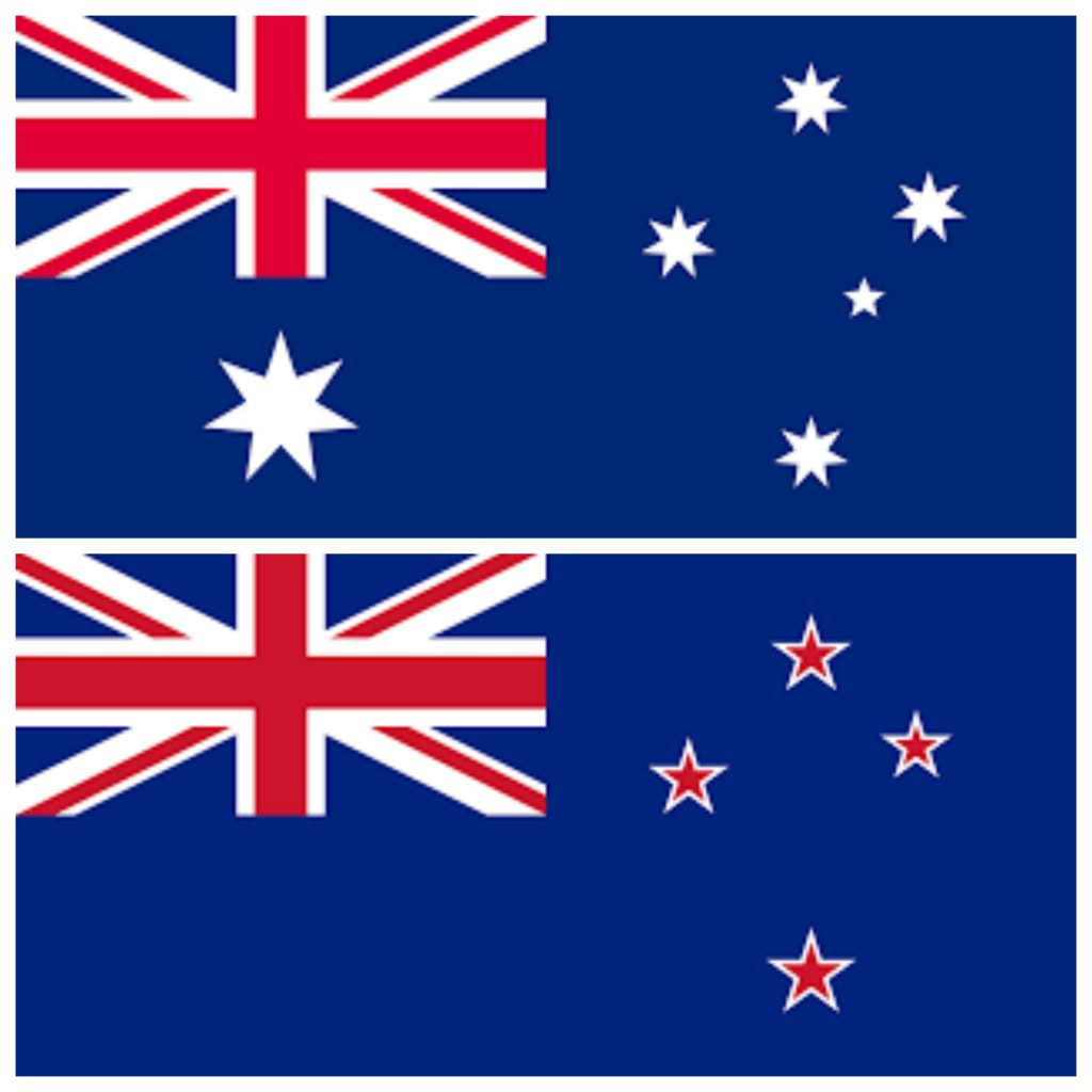 Difference Between The Australian And New Zealand Flags