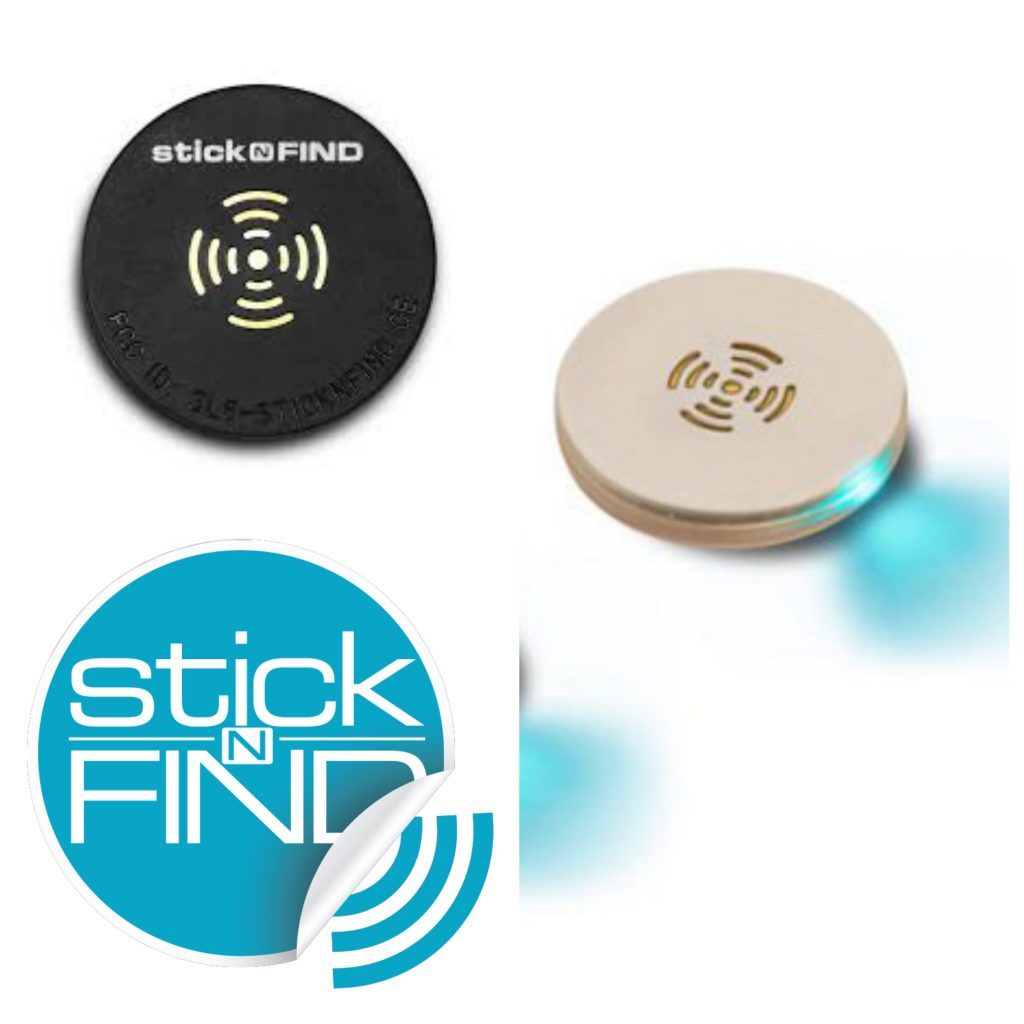 Sticknfind Bluetooth tracker sticker